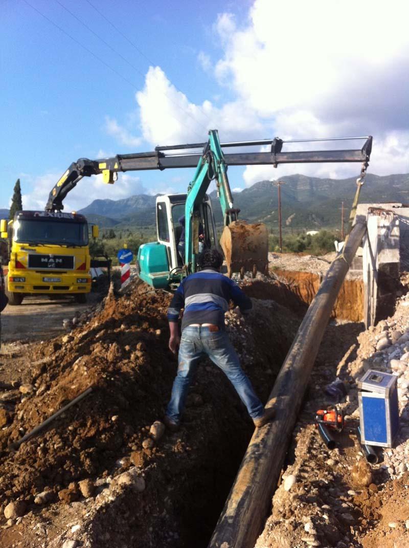 Κατασκευή και τοποθέτηση δικτύων άρδευσης