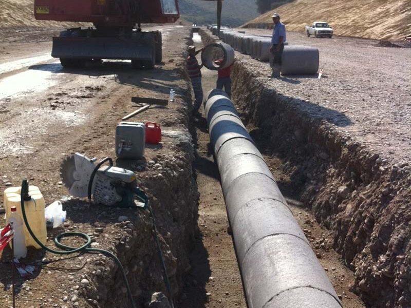 Κατασκευή υδραυλικών δικτύων ομβρίων